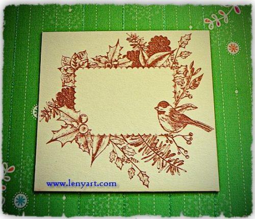 Lux02 Bird decoration